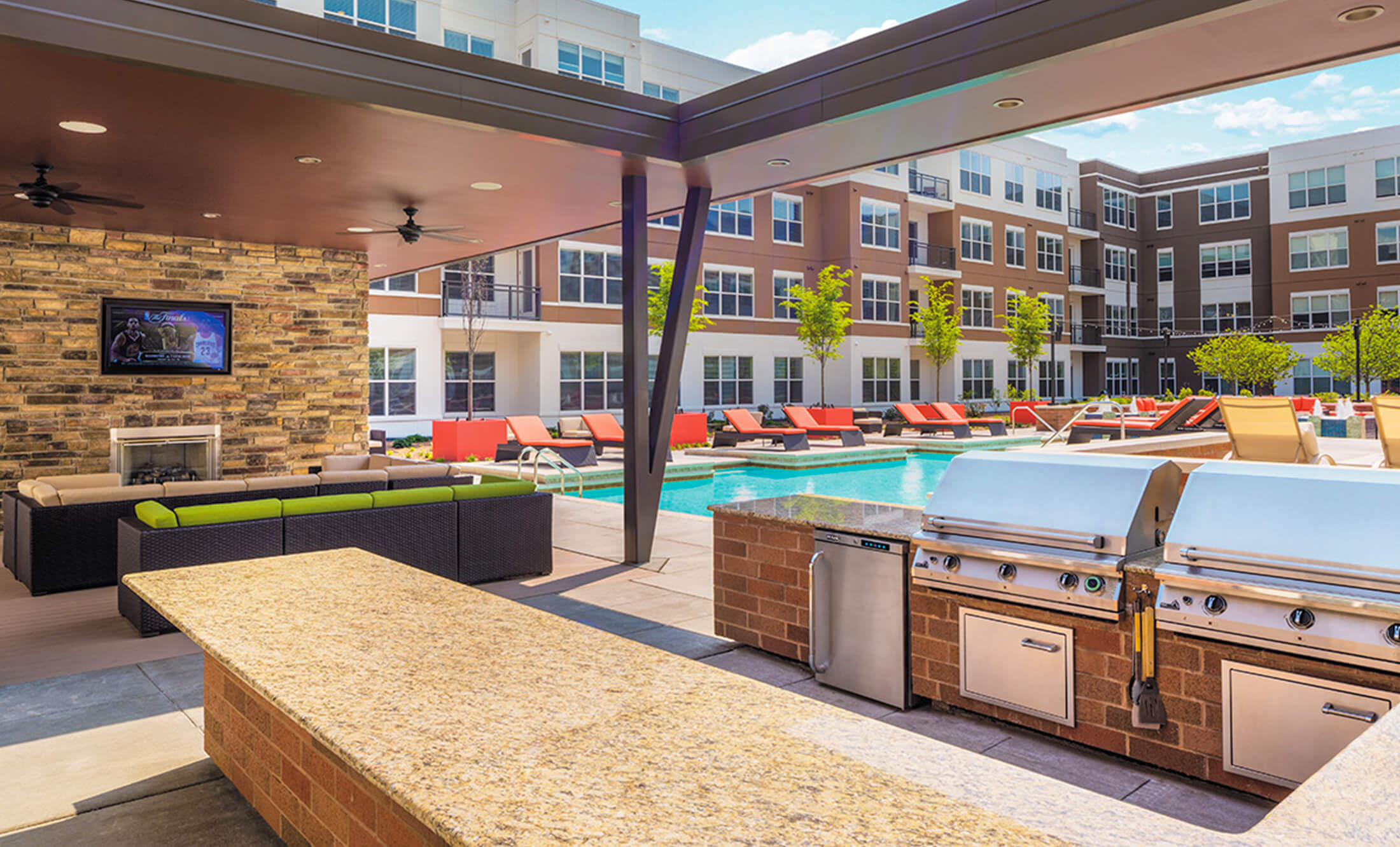 The Vue Apartments In Beachwood Oh